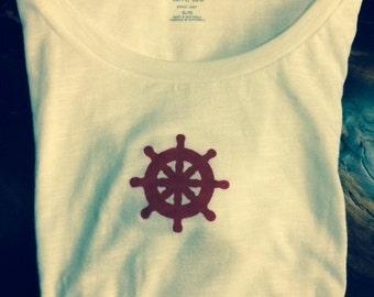 Ship Wheel T-Shirt
