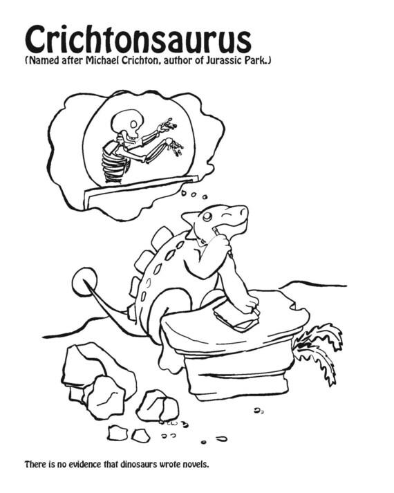 HeRAWRsies de dinosaurio para colorear libro libro de