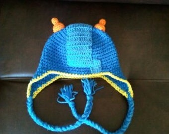 Team Umizoomi Geo Hat with Earflaps