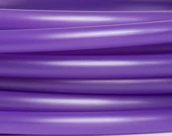 "UV Purple Iris (UV Reactive) Polypro Custom Hoop 5/8"", 3/4"" and 7/8"""