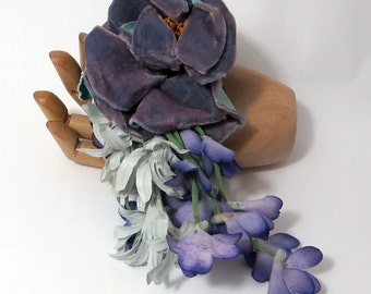 Lavendar Blues - Nosegay/Small Bouquet/Tussie Mussie/Corsage