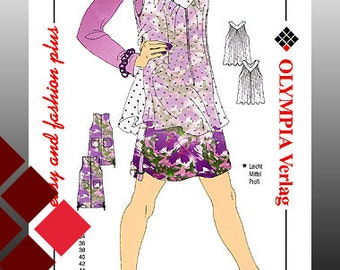 Patterns, 0916, dress and blouse (1131)