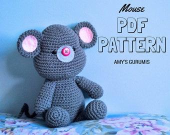Amigurumi Pattern Mouse
