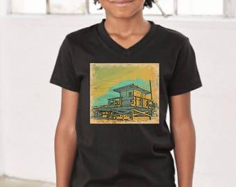 Standing Guard Youth Black T-Shirt