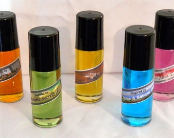E. B. Adventurer Type (M) Cologne Body Oil Roll Ons -PLUS- All Handcrafted Matching Bath And Body Items