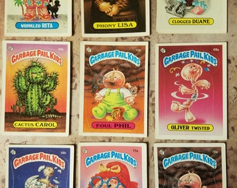 Garbage Pail Kids - 2nd series 1985