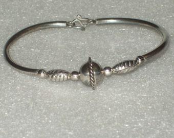 Sterling Silver Bracelet 6/12 inch