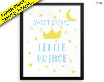 Sweet Dreams Printed Poster Sweet Dreams Framed Sweet Dreams Nursery Art Sweet Dreams Nursery Print Sweet Dreams Canvas Sweet Dreams Decor