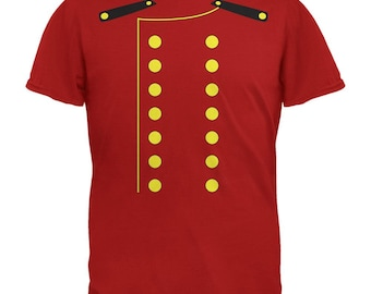 Halloween Hotel Bellhop Costume Red Youth T-Shirt
