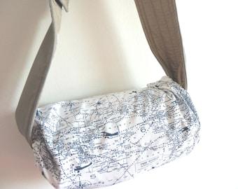 Baby carrier pod/bag/sack/storage  for  Ergobaby, Tula, Boba, Beco, Manduca, etc...-Map