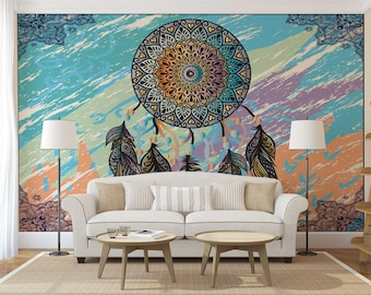 Bohemian Bedroom Wall Decor Mandala