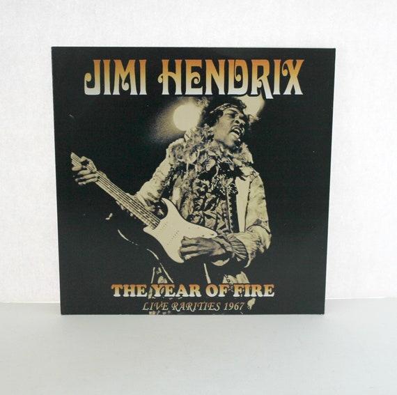 "Jimi Hendrix The Year of Fire LP   Live Rarities 1967 Ltd Edition 10/10 Record Album 10"""