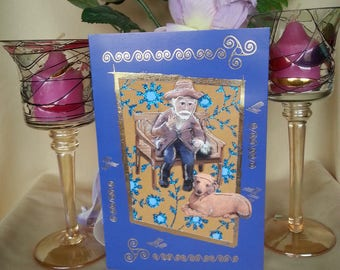 3d Greeting Card Small Außzeit