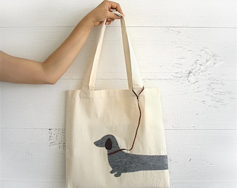 Dachshund Tote, Women Tote Bag, Gift For Women, Dog Mom Gift, Womens Bag, Mother's Day Gift, Dachshund Gift, Women Tote, Gift For Dog Mom
