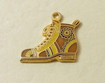 Vintage Aviva Charm Brown Boot 24-1