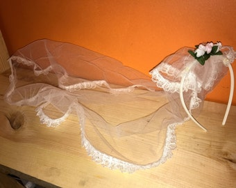 Little Girl 's Dress Up Wedding Veil