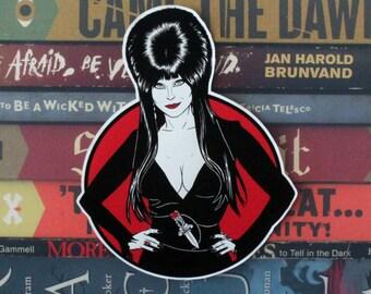 Elvira Cut Out Sticker
