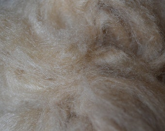Tussah Silk bleached Fiber