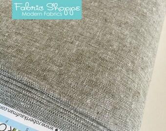 SALE fabric, Essex Linen, Essex Yarn Dyed, Apparel Fabric, Cotton fabric, Olive Green Fabric, Linen fabric, Robert Kaufman, Essex in Olive