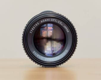 MINT - SMC Takumar 50mm 1.4 - m42 mount lens