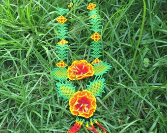 Shipibo Flower Ceremony Necklace