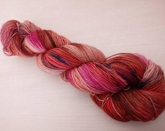 Hand-dyed sock yarn autumn dream