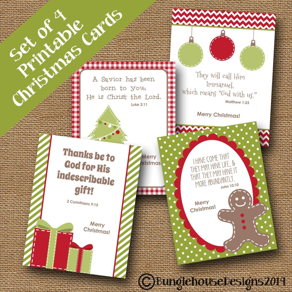 Printable Christian Christmas Cards Driveeapusedmotorhomefo