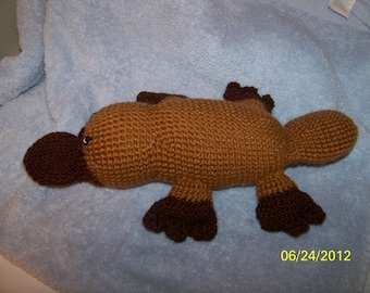 Crochet platypus ANY colors you want
