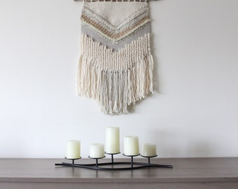 WEAVING / Woven Wall Hanging / Wall Art / Home Decor / Tapestry / Fiber Art