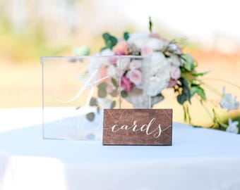 Wedding Card Box, Wedding Card Holder, Wedding Box, Custom Card Box, Wedding Money Box, Acrylic Card Box for Wedding, card box wedding