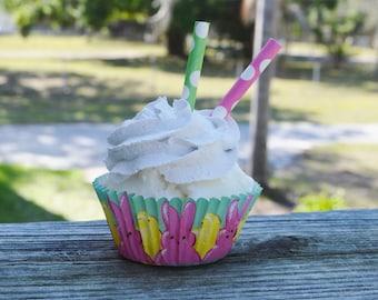Peeps Easter Cupcake (fake)