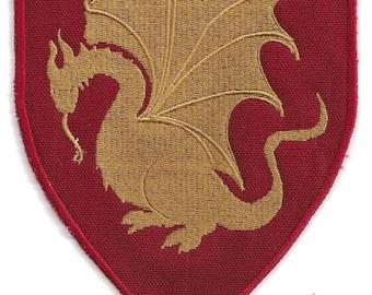 Pendragon heraldry patch