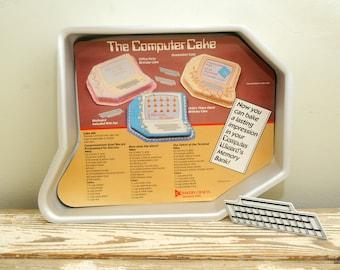 80s Wilton Computer Cake Pan