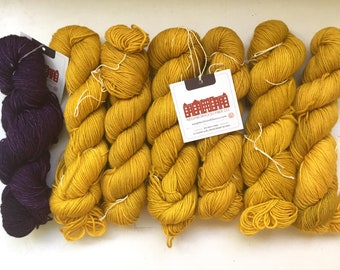40% Off Neighborhood Fibers Cobblestone DK Yarn BFL Wool Silk Cashmere 275 Yards