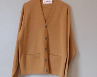 60's Vintage Rust Cardigan