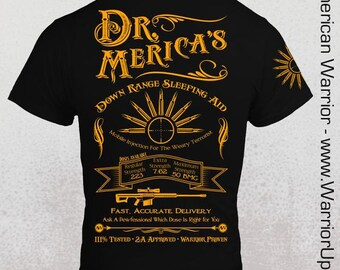 Dr. Merica's Sleeping Aid  T-Shirt - Mens