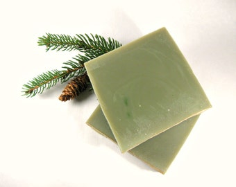 Balsam & Cedar Soap, Cold Process Soap, Handmade Soap, Bar Soap, Pine Soap, Phthalate Free, Palm Oil Free Soap, Men's Soap, Gift for Him