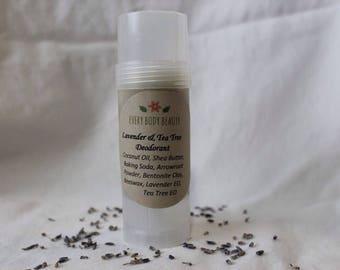 Lavender & Tea Tree Deodorant