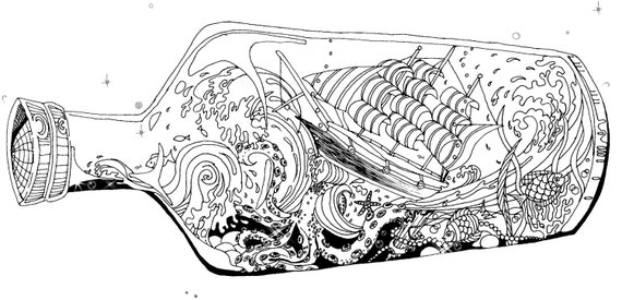 ocean storm coloring pages - photo#7