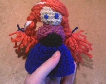 Anna frozen fingers puppet Queen