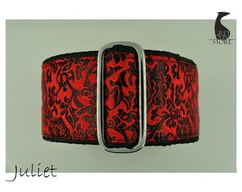 Juliet (Luxury Martingale Dog Collar - Greyhound collar | Galgo collar)
