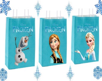 Frozen Party Favor Bag~ Frozen Birthday Party Inspired Decorations & Decor