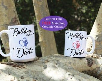 Bulldog dad mug, Bulldog mom mug, Bulldog coffee mug, Bulldog mugs, Bulldog dog breed, Bulldog Rescue, Bulldog Puppy, Bulldog Dogs, Bulldog