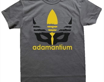 The Wolverine Logan T-Shirt, Adamantium Wolverine T-Shirt