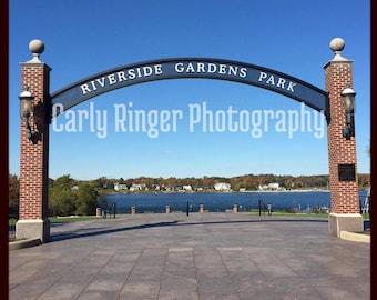 Shore: Riverside Gardens Park Tile Coaster