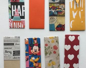 Handmade bookmark holder