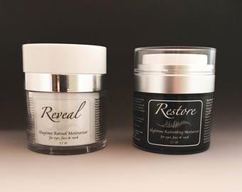 Reveal & Restore Facial Moisturizer Set