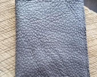 Pebble Brown Leather Passport Holder
