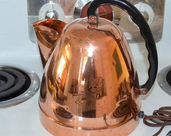 Westinghouse Copper Kettle Vintage  1945-55 Hamilton Canada Working