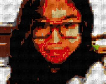 Custom LEGO® Style Blocks Mosaic Portrait/Artwork - DIY